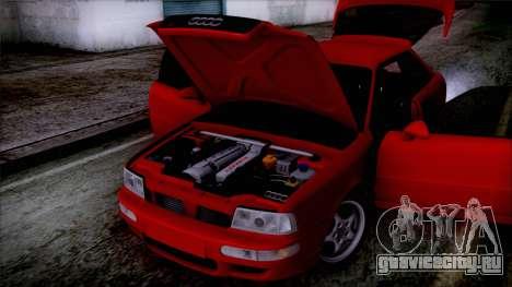 Audi RS2 Coupe для GTA San Andreas вид сзади