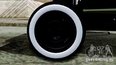 Hot-Rod По-русски для GTA San Andreas вид сзади слева