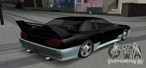 Luni Elegy для GTA San Andreas вид справа