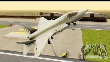 F-35B Lightning II Hatsune Miku Version для GTA San Andreas вид справа