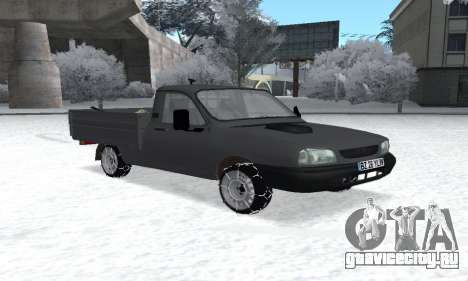 Dacia 1305 Papuc Pick-Up Drop Side 1.9D для GTA San Andreas