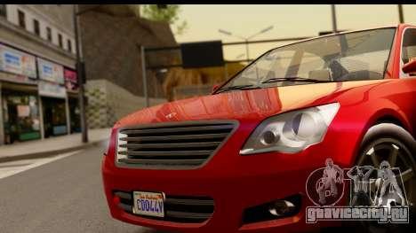GTA 5 Karin Asterope для GTA San Andreas вид справа