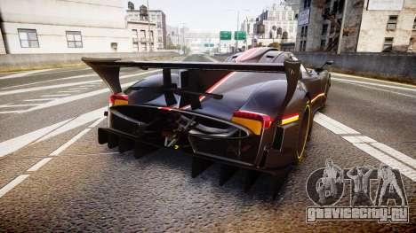 Pagani Zonda Revolution 2013 для GTA 4 вид сзади слева