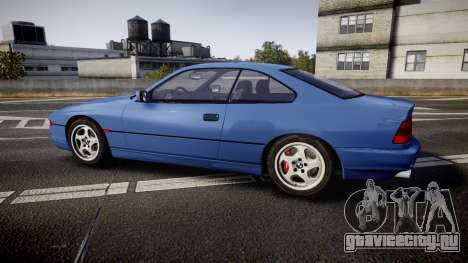 BMW E31 850CSi 1995 [EPM] для GTA 4 вид слева