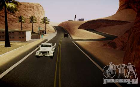 Fourth Road Mod для GTA San Andreas четвёртый скриншот