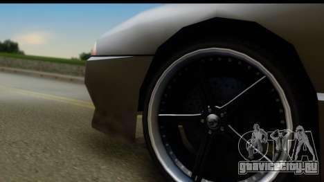 New Elegy Editons для GTA San Andreas вид сзади