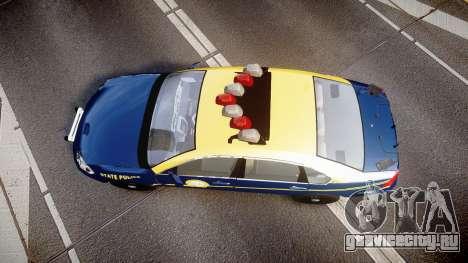 Chevrolet Impala West Virginia State Police ELS для GTA 4 вид справа