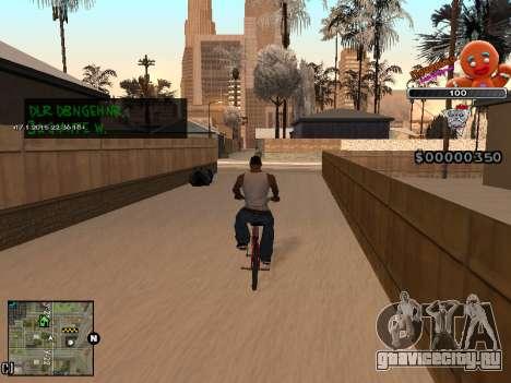 C-HUD Печенька для GTA San Andreas пятый скриншот