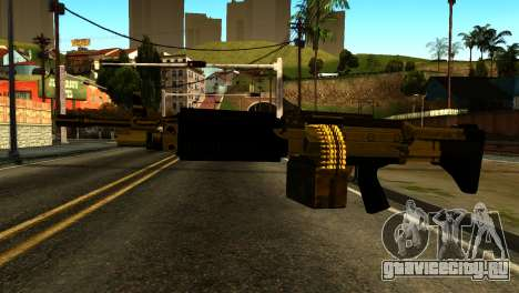 Combat MG from GTA 5 для GTA San Andreas