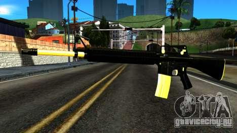 New M4 для GTA San Andreas