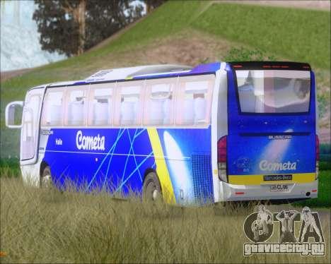 Busscar Vissta Buss LO Cometa для GTA San Andreas вид сбоку