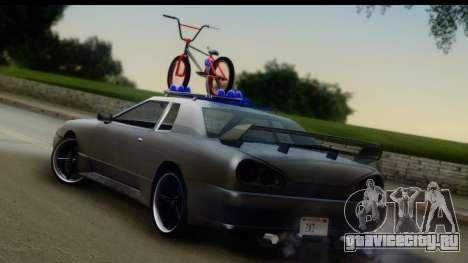 New Elegy Editons для GTA San Andreas вид слева