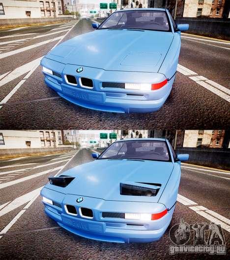 BMW E31 850CSi 1995 [EPM] для GTA 4 вид сбоку