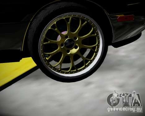 Mazda MX-5 JDM для GTA San Andreas вид сзади