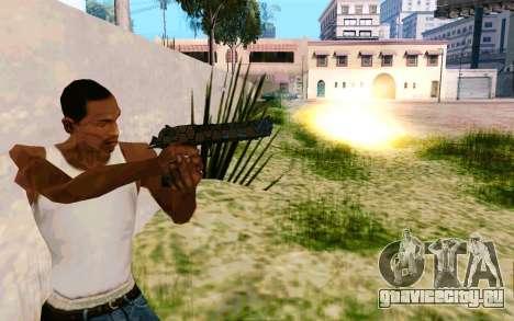 Desert Eagle (Dodgers) для GTA San Andreas второй скриншот