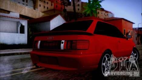 Audi RS2 Coupe для GTA San Andreas вид слева