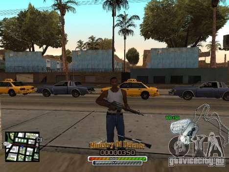 C-HUD для Army для GTA San Andreas второй скриншот