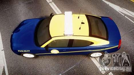 Dodge Charger West Virginia State Police [ELS] для GTA 4 вид справа