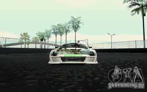 Toyota Supra VCDT для GTA San Andreas вид справа
