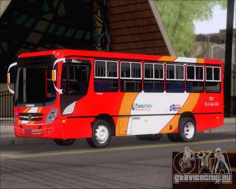 Caio Foz Super I 2006 Transurbane Guarulhoz 2201 для GTA San Andreas вид слева