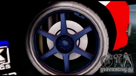 Toyota Corolla 2012 LOJACK Racing для GTA San Andreas вид сзади слева