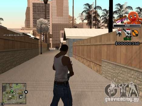 C-HUD Печенька для GTA San Andreas