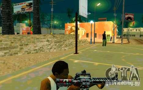 M4A1 (Looney) для GTA San Andreas третий скриншот