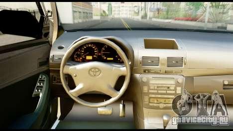 Toyota Hilux Georgia Police для GTA San Andreas вид справа