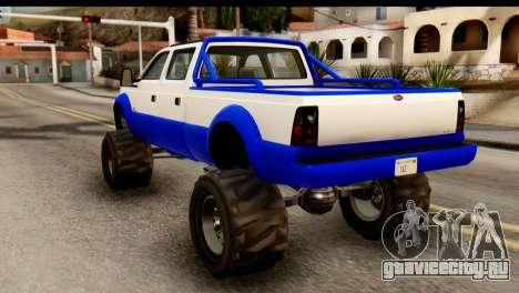 GTA 5 Vapid Sandking XL IVF для GTA San Andreas вид слева