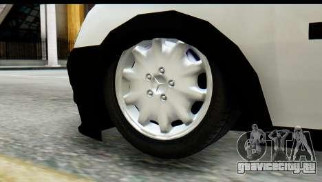 Opel Combo Delta Garage для GTA San Andreas вид справа
