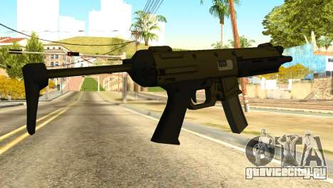 MP5 from GTA 5 для GTA San Andreas второй скриншот