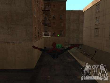 Spiderman Swinging v2.1 для GTA San Andreas второй скриншот
