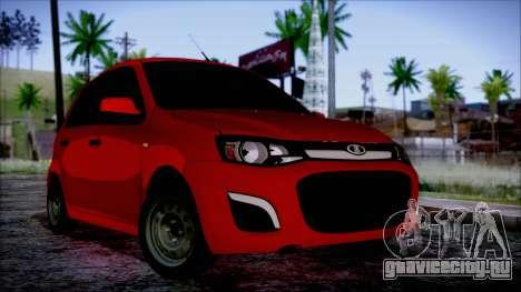 Lada Kalina R2 для GTA San Andreas