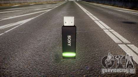 USB-флеш-накопитель Sony green для GTA 4 второй скриншот