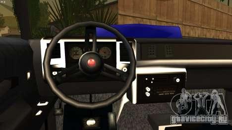 Chevy Monte Carlo для GTA San Andreas вид сзади слева