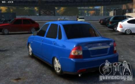 Lada 2170 для GTA 4