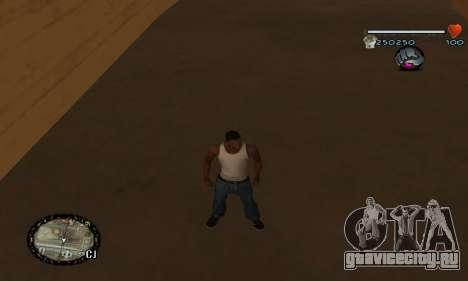 C-HUD UNIVERSAL для GTA San Andreas четвёртый скриншот