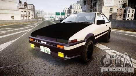 Toyota AE86 Tofu для GTA 4