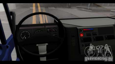 Iveco Eurotech (No Snow) для GTA San Andreas вид сзади