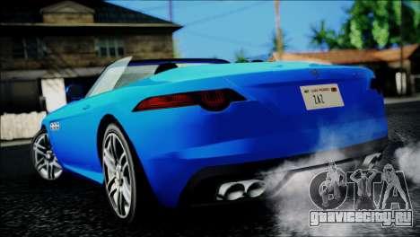 Benefactor Surano IVF для GTA San Andreas