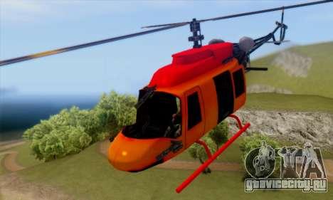 Bandit Maverick для GTA San Andreas вид сзади