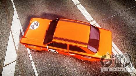 Ford Escort RS1600 PJ44 для GTA 4 вид справа