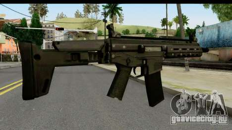 SCAR from from State of Decay для GTA San Andreas второй скриншот