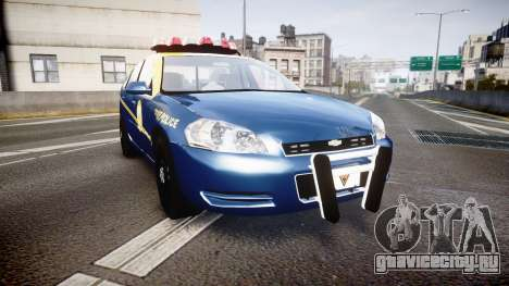 Chevrolet Impala West Virginia State Police ELS для GTA 4
