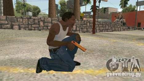 Orange Desert Eagle для GTA San Andreas четвёртый скриншот
