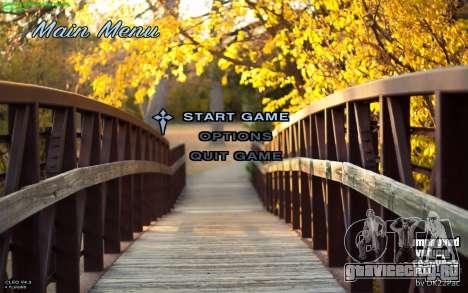 Осеннее Меню для GTA San Andreas
