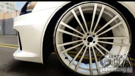 Mitsubishi Lancer X RE-Racing Edition для GTA San Andreas вид справа
