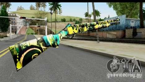 Grafiti Shotgun для GTA San Andreas второй скриншот