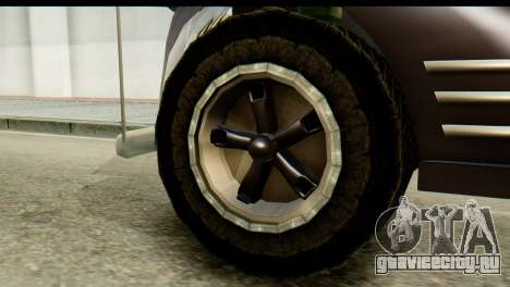 Chevrolet C.O.E. Semimula для GTA San Andreas вид сзади слева