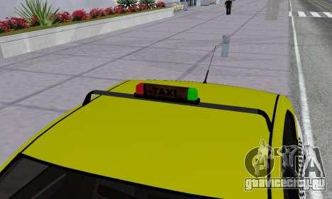 Dacia Logan Taxi для GTA San Andreas колёса